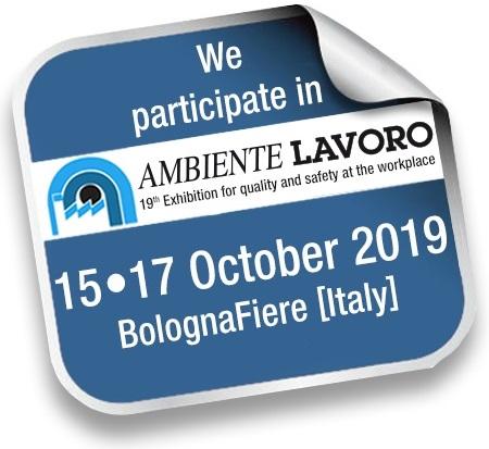 Ambiente Lavoro participant badge for SafeStart for Ambiente Lavoro 2019 in Bologna
